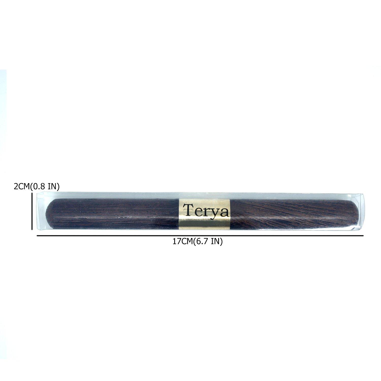 Terya Portable Wood Ice Pick Kitchen Bar Tool (Ebonywood & Rosewood & Coffee) by Terya (Image #6)