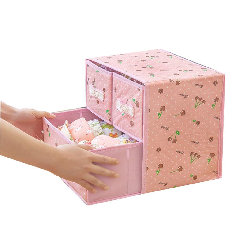 SHOUNAHE Caja De Almacenamiento - Caja de almacenaje Gabinete De Guardarropa con 3 Cajones Almacenamiento De Usos Múltiples h (Color : E): Amazon.es: Hogar