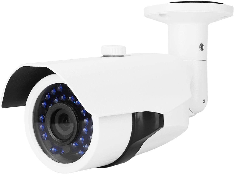 Cámara CCTV 1080P para Exteriores con cámara de visión Nocturna, cámara Tipo Bala IP66, cámara IRCUT Impermeable para el hogar(PAL)