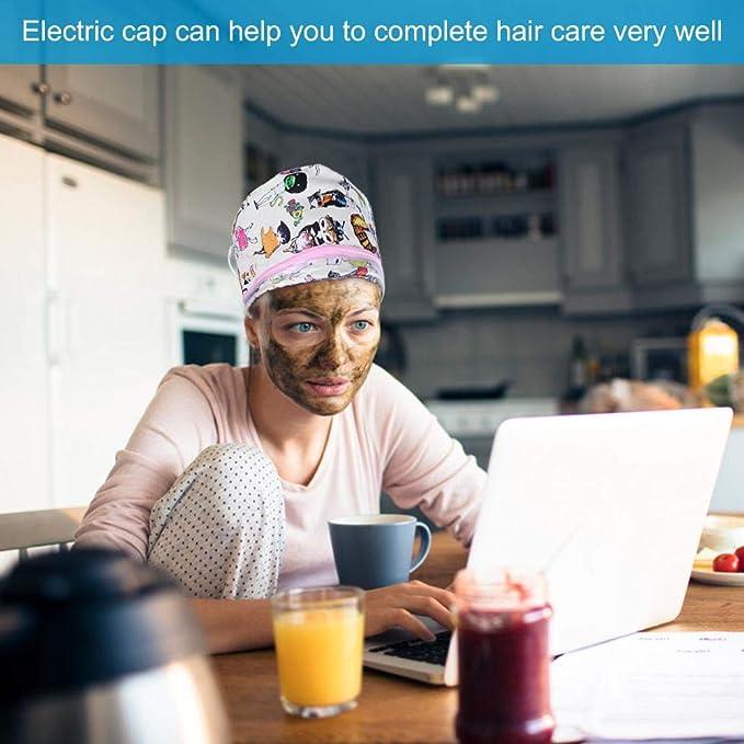 Calentador eléctrico para el cabello con vaporizador térmico, SPA ...