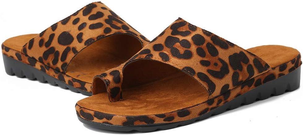 QBAMTX Sandalias Ortopédicas Plataforma para Mujer Zapatillas De Playa De Verano Cómodas Sandalias De Tacón De Cuña Zapatos Ortopédicos Correctores De Juanetes para Caminar Chanclas con Punta Clip
