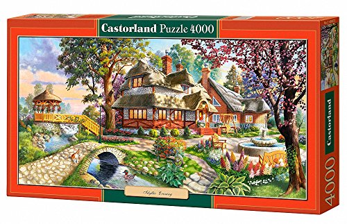 Idyllic Evening, 4000 Piece By Castorland Puzzles