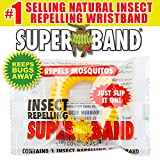 Evergreen Research''SuperBand'' Insect Repelling Wrist Band (Pack of 20)