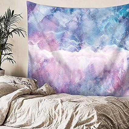 Nordic Color Nube Girls Habitación Dormitorio Sala De Estar Dormitorio Pintura Tela De La Pared