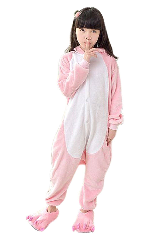 ZBSPORT Kigurumi Kangourou Pyjamas Adulte Unisexe Anime Onesies Deguisement Animaux Romper Pajamas