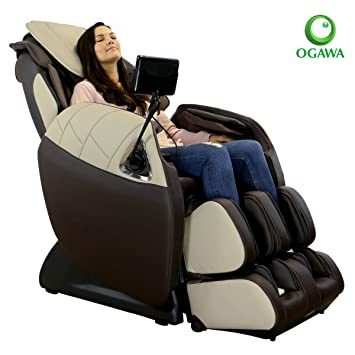 Ogawa Refresh Plus Massage Chair (Chocolate U0026 Ivory)