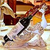 European-style wine Cabinet wine rack accessories fashion the living room wine decorative ornaments-B