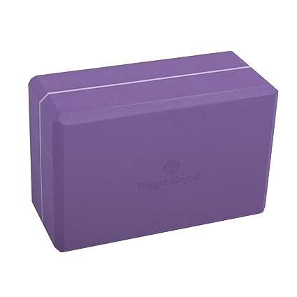 Hugger Mugger 4-Inch Foam Yoga Block (Purple): Amazon.es ...