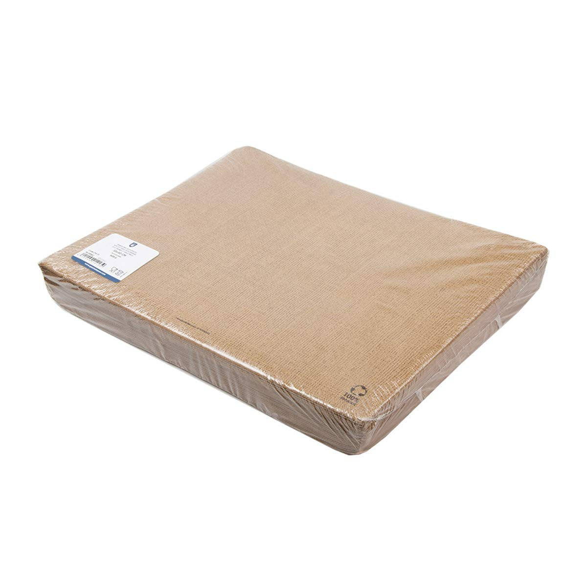 Garc/ía de Pou Eco-Friendly Table Mats  Arpillera 48 Gsm 30X40 Cm Marr/ón Recycled Paper