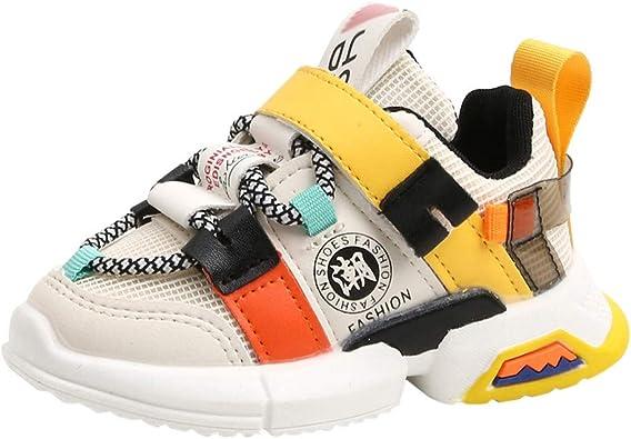 KUDICO Chaussure de Sport Enfant Garçon Baskets Mode Fille
