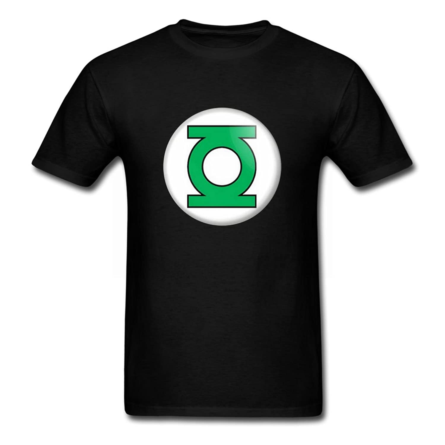 Dc comics green lantern mens black printing t shirt custom for Amazon custom t shirts