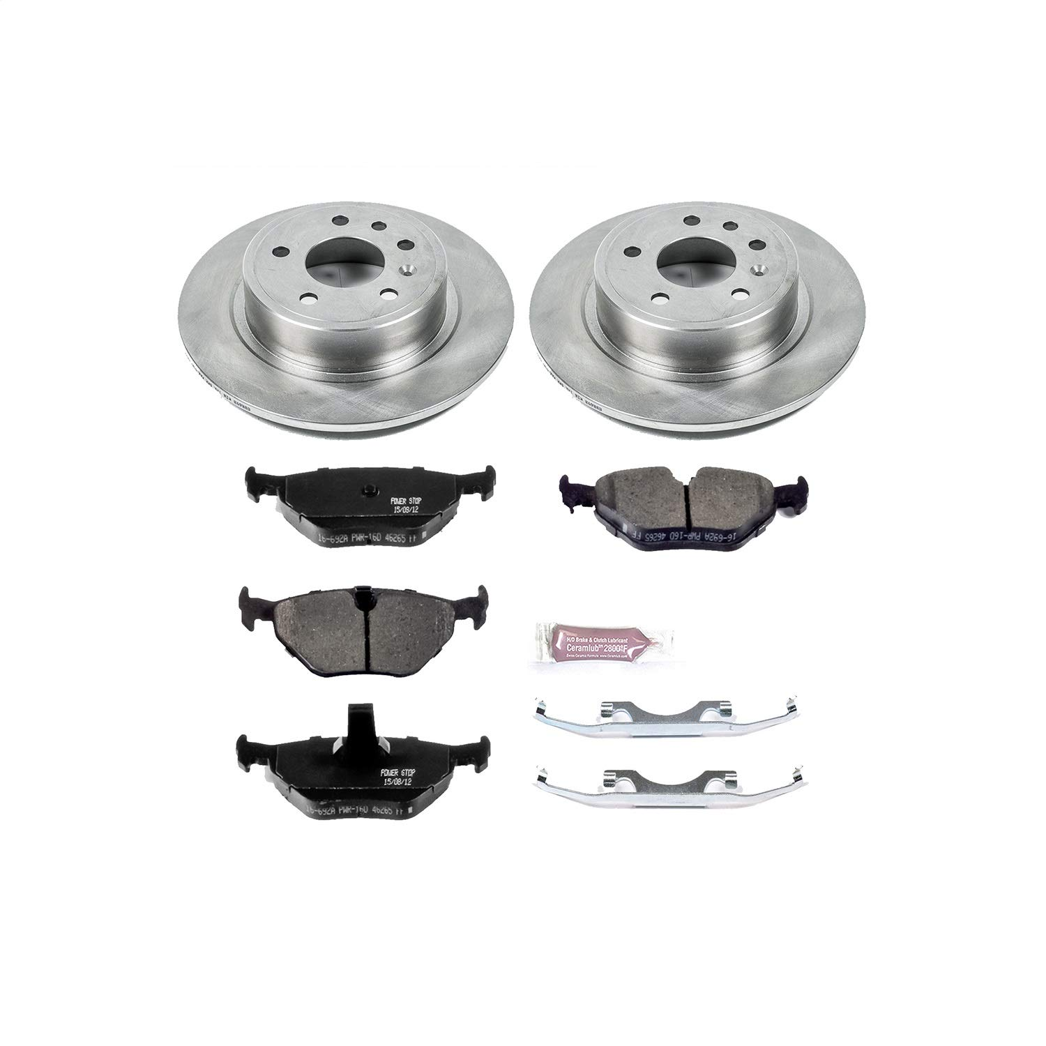 Autospecialty KOE206 1-Click OE Replacement Brake Kit