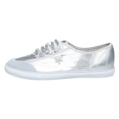 AMERICAN EAGLE 98_ARGENTO Freizeit Schuhe Sneakers EU 40 Silber