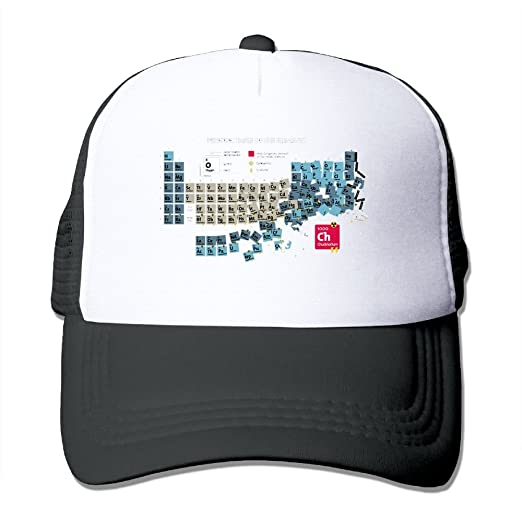 Periodic table of elements comfortable baseball caps for men designs periodic table of elements comfortable baseball caps for men designs great for activities adventures trucker hat urtaz