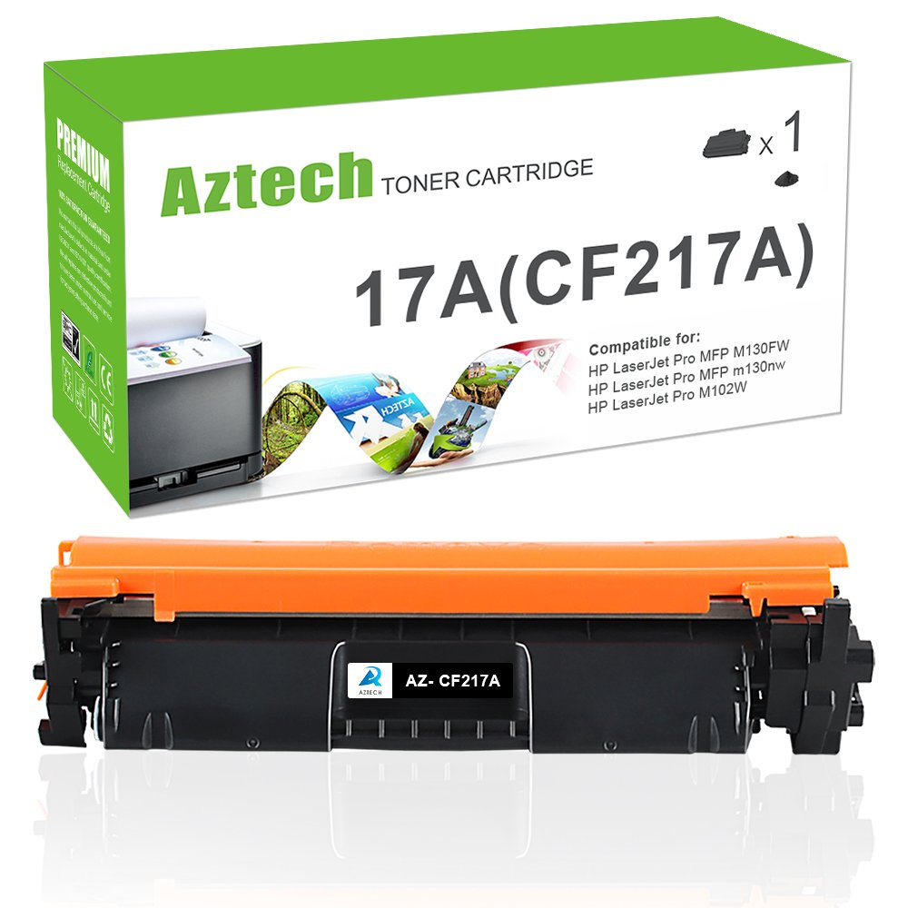 Aztech (with Chip) - Tóner Compatible con HP CF217A 17A para HP ...