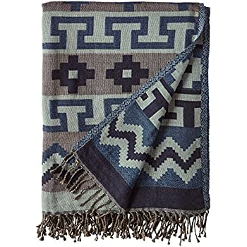 e897e57354f Stone   Beam Lightweight Cotton Southwest-Inspired Decorative Throw Blanket