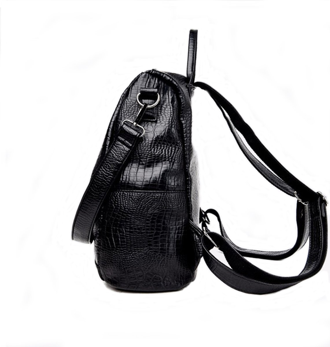 Fashion Backpack for Women Rucksack PU Leather Black Shoulder Bags Purses for Ladies Tote Bags by Goldsuntop (Image #1)