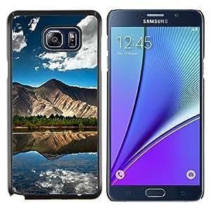 Caucho caso de Shell duro de la cubierta de accesorios de protección BY RAYDREAMMM - Samsung Galaxy Note 5 5th N9200 - Puesta de sol Mar Beautiful Nature 22