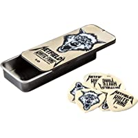 Deals on Jim Dunlop Hetfields Fang Custom 1.0mm Flow Guitar Pick Tin