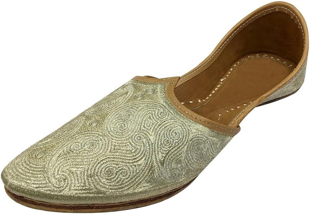 Step n Style Traditional Flipflop Jutti Khussa Juti Indian Handmade Ballet Hippie