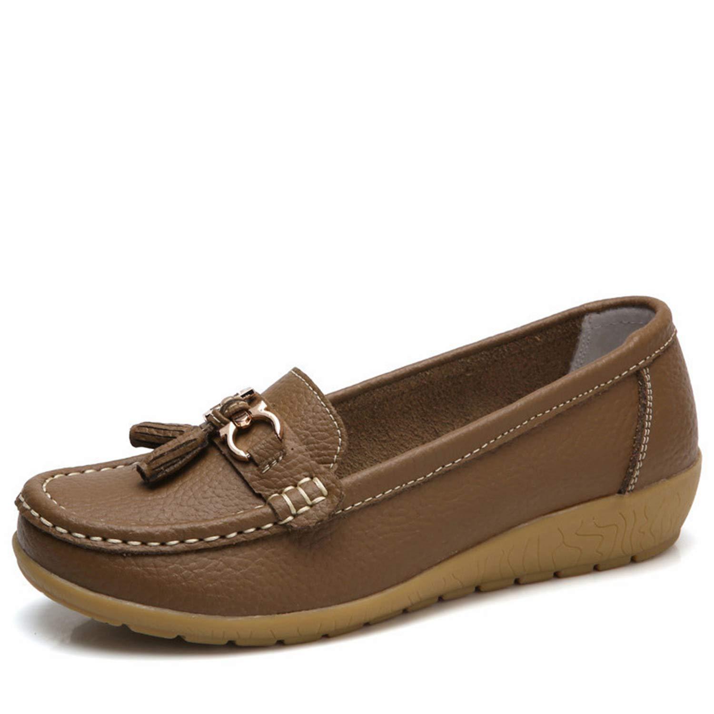 Awmerny Boots Woman Women Flats Slip On Womens Loafers Female Moccasins Shoe Plus Size 35-44