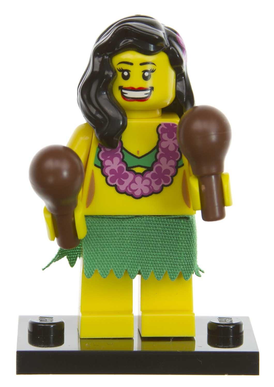 amazon com hawaii diva lego mini figures series 3 14 toys