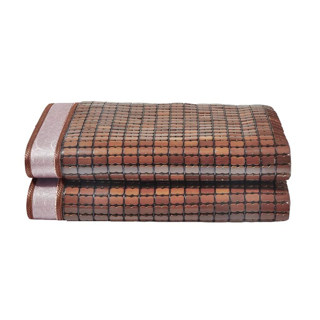 Bambus Schlafmatten Mahjong Bambusmatte 1.5m1.8m Bett Faltbar Sommer Klimaanlage Matte Kühle atmungsaktiv (Size : 1.8 m (6 ft) Bed)
