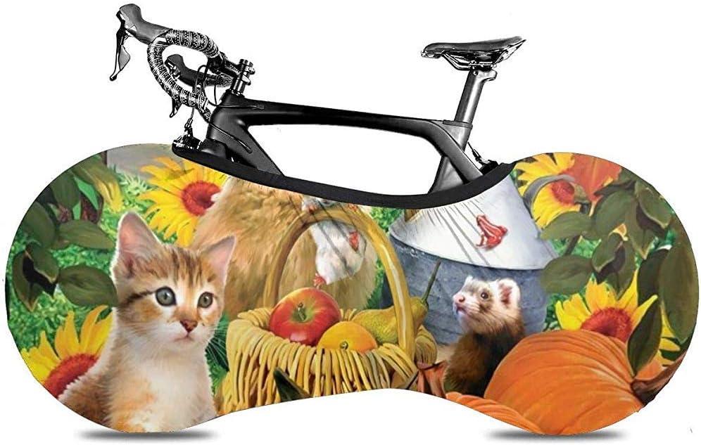 LisaArticles - Funda para Bicicleta, diseño de Perros y Gatos: Amazon.es: Deportes y aire libre