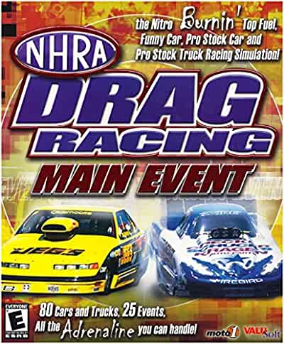 nhra drag racing main event pc video games. Black Bedroom Furniture Sets. Home Design Ideas