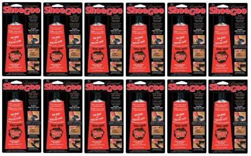 Price comparison product image (12-Pack) Shoe Goo Black 3.7 Oz Footwear Adhesive Repair & Protective Coating