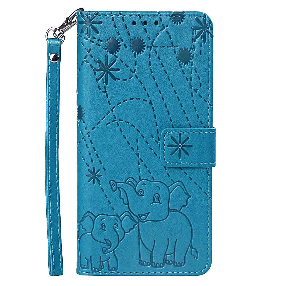 Leather Cover Business Gifts Wallet with Extra Waterproof Underwater Case Flip Case for iPhone 7 Plus