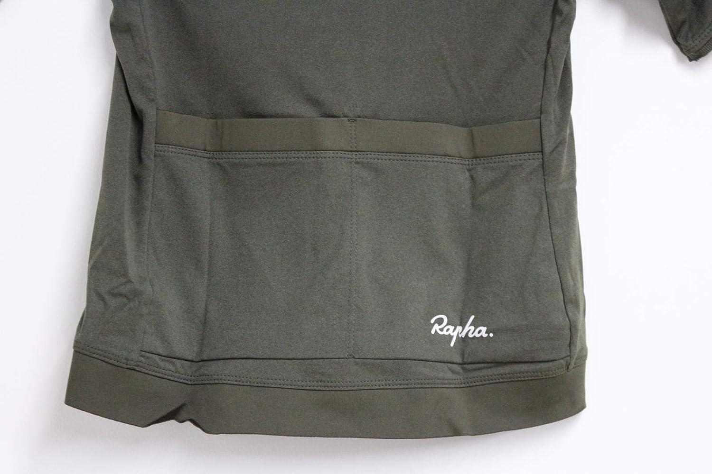 Rapha Kids Boys Dark Green Core Jersey Short Sleeve Cycling Sports Top S NEW