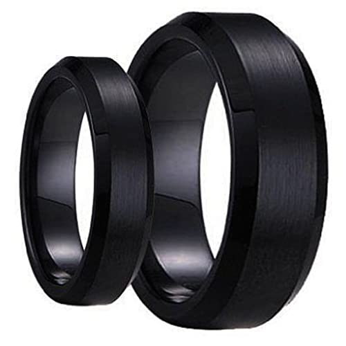 Tungsten Jeweler BB1-LADIES6MM-MEN8MM-BRUSHED product image 10