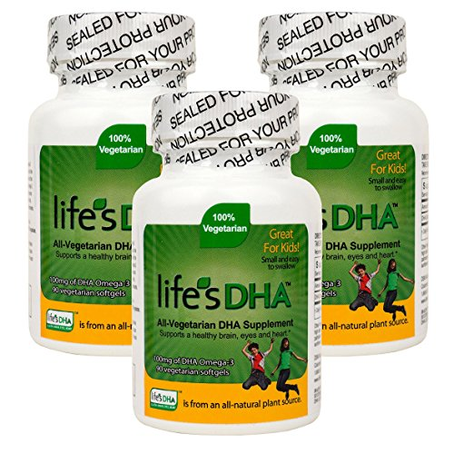 Martek Life's DHA 100mg All-Vegetarian DHA Supplement - 90 Softgels