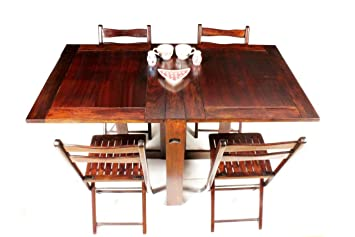 dining table furniture bazaar. home and bazaar plain top folding dining table 6 seater with 4 chair | furniture