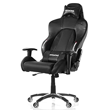 Super Ak Racing K7002 Premium Gaming Chair Carbon Black Faux Leather Machost Co Dining Chair Design Ideas Machostcouk