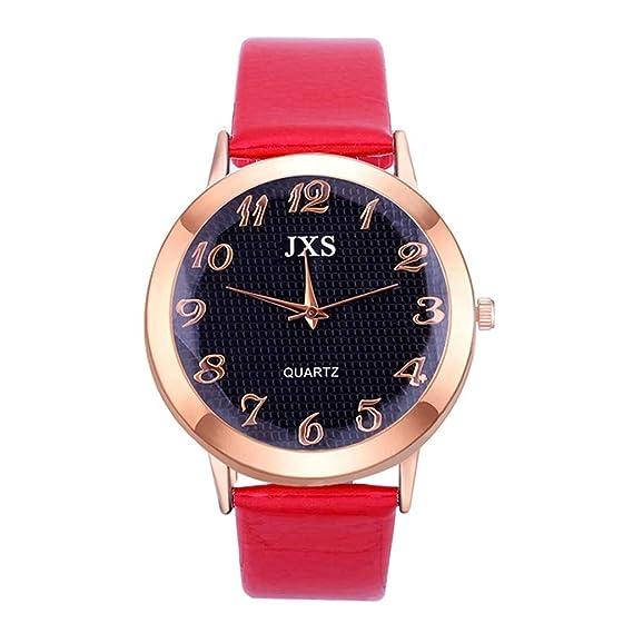 Moretime - Reloj de Cuarzo de Acero Inoxidable de Lujo para Mujer Talla única A: Amazon.es: Relojes