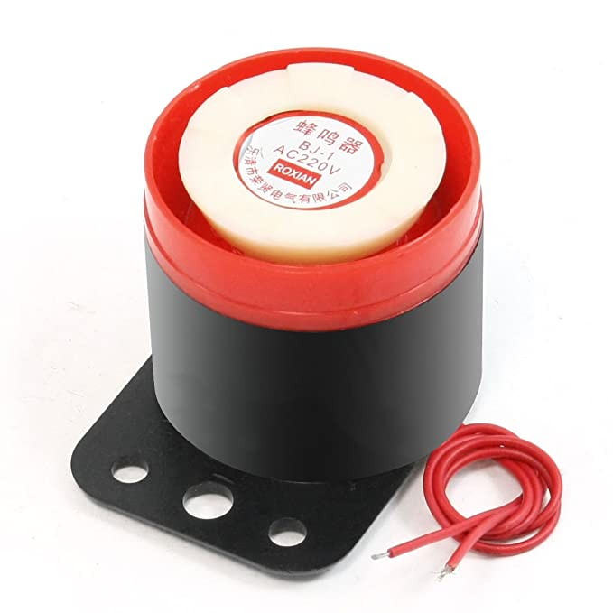 3 opinioni per sourcingmap® Bj-1 90Db 220Vac Sirena Suono Elettronico Cicalino Emergenza