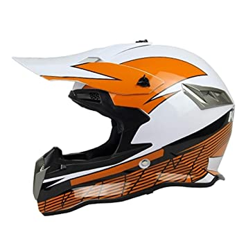 ZHONGST Motocicleta Fuera De Carretera Casco Racing Casco Completo Casco ABS Knight Casco De Campo Traviesa