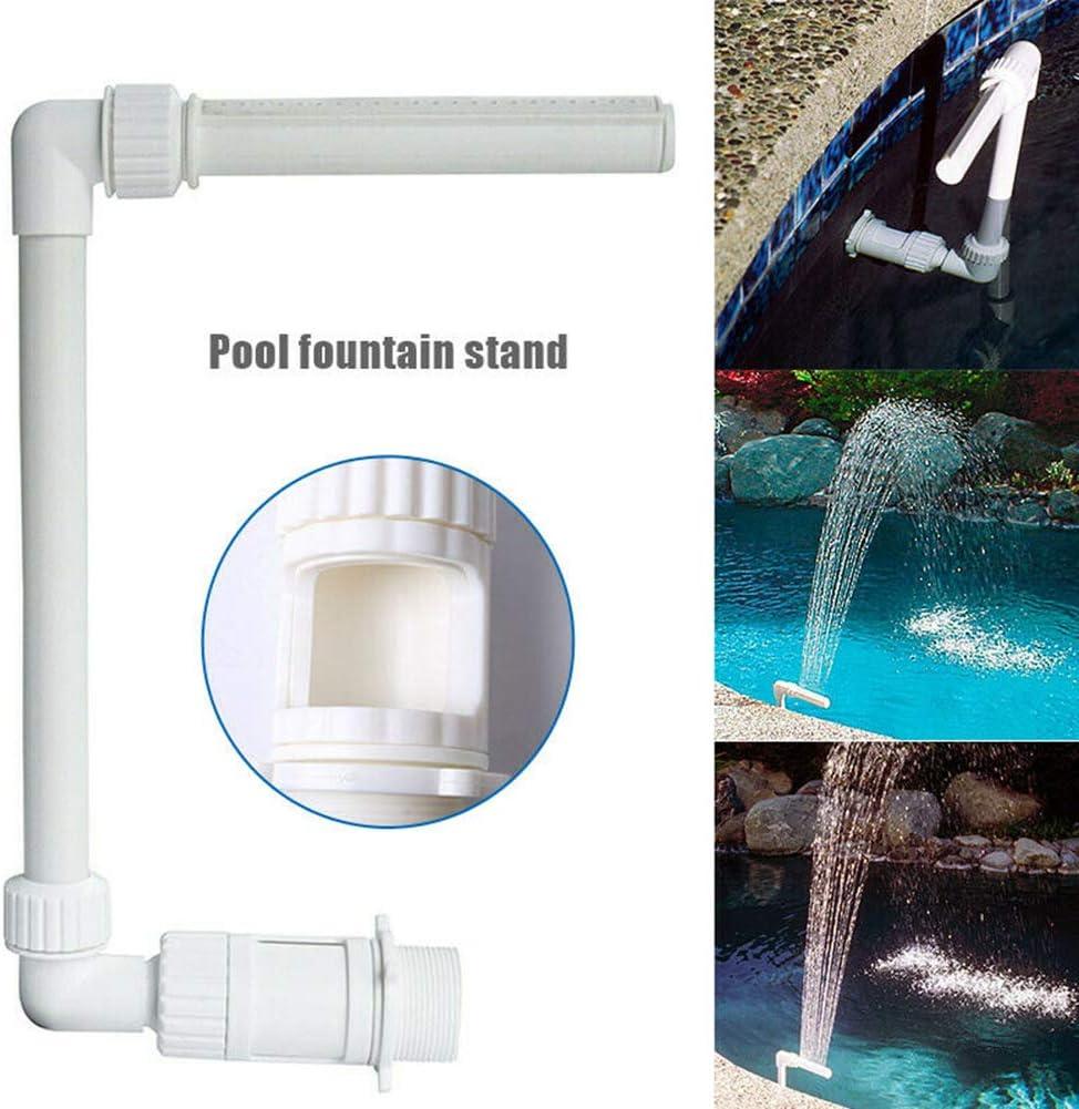 SEniutarm Water Spray Sprinkler Equipment Swimming Pool Waterfall Fountain Stand Tube