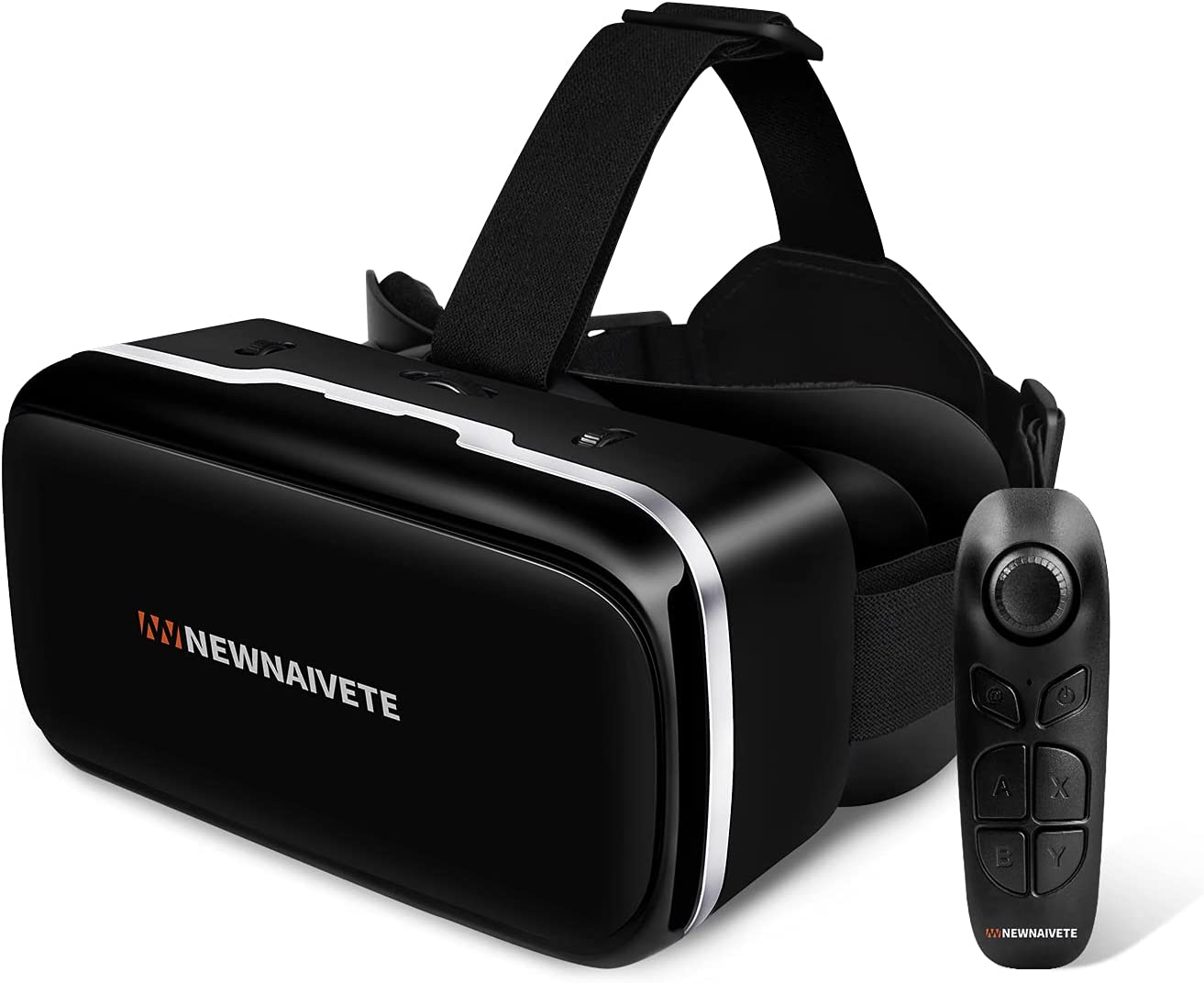 Newnaivete VR Headset with Remote Controller, HD Virtual Reality Headset Compatible with 4.7