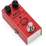 lotmusic Electric Guitar Effects Pedal Mini Single Type DC 9V True Bypass Classic Chorus (Red)