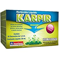 Herbicida Seletivo para Controle de Ervas Daninhas (Tiririca, Picão Preto, Picão Branco) Karpir-20 flaconetes de 1,5mL