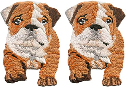 Dog  Patch Lovely Dog  Applique,Fabric  Patch A Set of Embroidery Dog Patch Iron on Dog  Patch