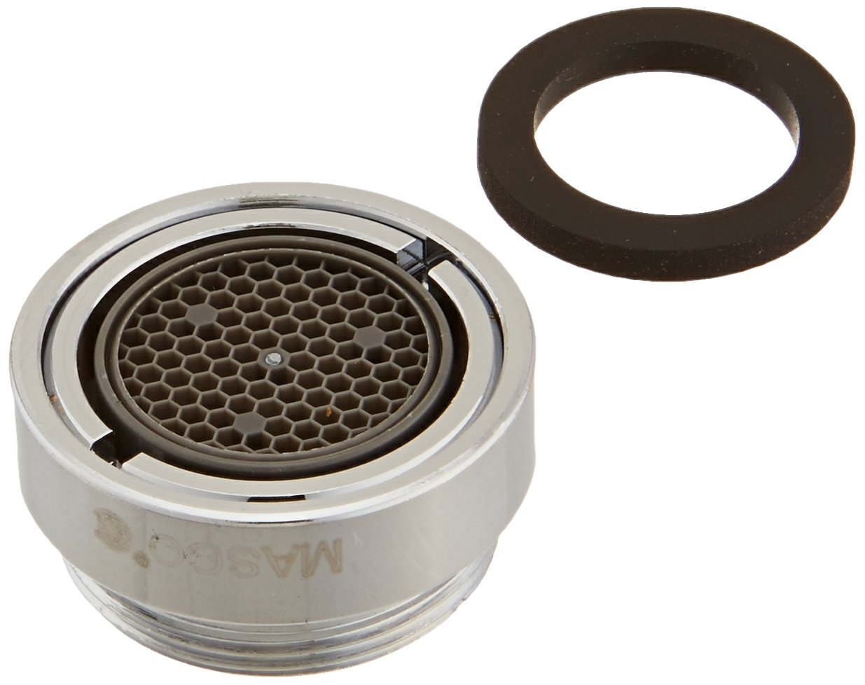 Delta Faucet RP246 Aerator for 2.0 GPM Vandal Proof, Chrome - Faucet ...