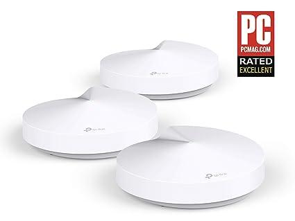 TP-LINK Deco Router wifi Repetidor de Wi-Fi Sistema Mesh Wi-Fi inteligente Dual-Band AC1300 hasta 500m² 2 Gigabit, MU-MIMO, compatible con Amazon ...