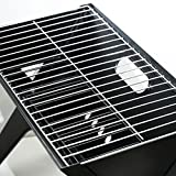 Portable Compact Notebook Charcoal BBQ X-grill