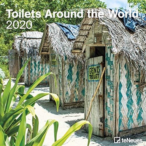 2020 Toilets Around the World 30 x 30 Grid Calendar (English, German, French, Italian and Spanish Edition)
