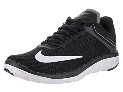 NIKE Womens Wmns FS Lite Run 4 Black White Cool Gray Size 5.5