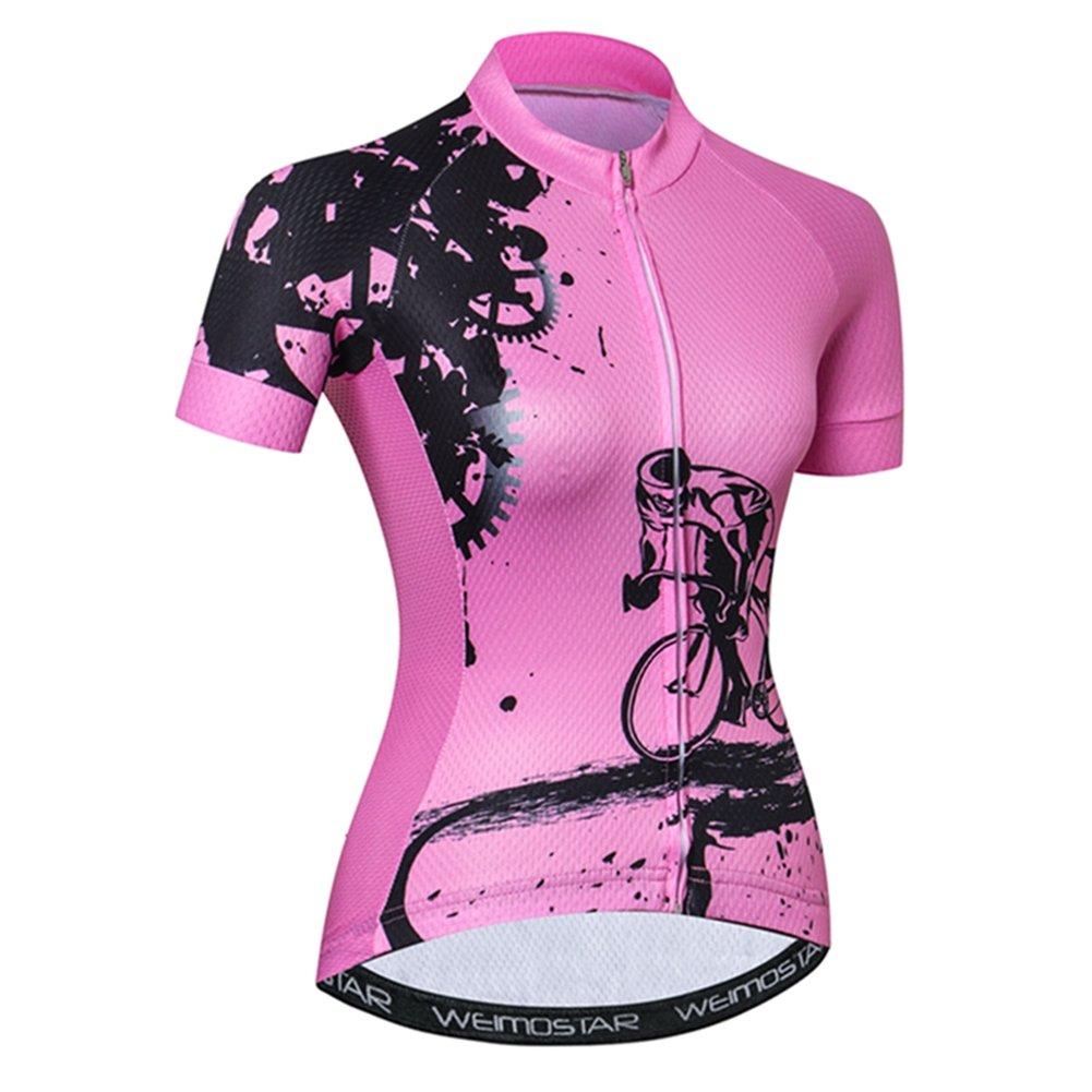 Weimostar SHIRT レディース B07BMML7G9 XX-Large Pink Gear Pink Gear XX-Large